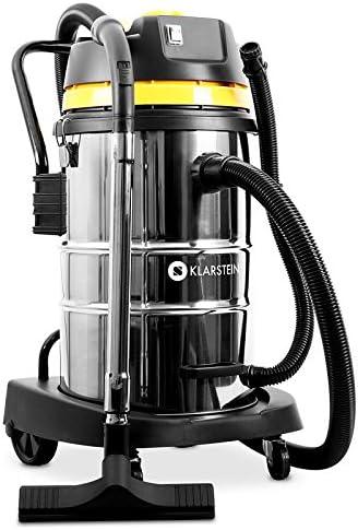 KLARSTEIN IVC-50 2020 Edition - Aspiradora Industrial para seco y húmedo, Doble Motor, Rendimiento 2000W, Filtro HEPA, Tanque 50L, Sin Bolsa, Protección IPX4, 8m de Alcance, Accesorios Varios: Amazon.es: Hogar