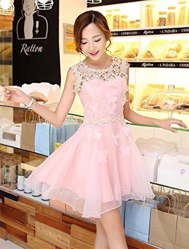 Linie A Drasawee Damen Kleid Rose 5S8qxEHwq