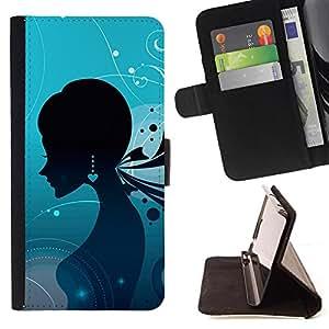 Kingstore / - Una señora en un fondo de pantalla con los pendientes - Sony Xperia Z1 L39