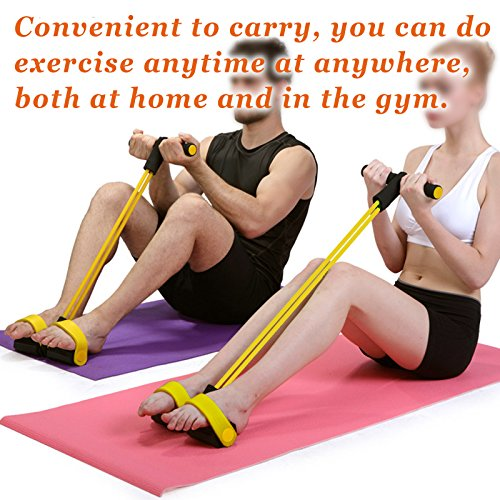 Abdominal+Machine Products : BenefitUSA Band Body Tummy Abdominal Workout Resistance Home GYM Fitness Yoga Equipment Exercise