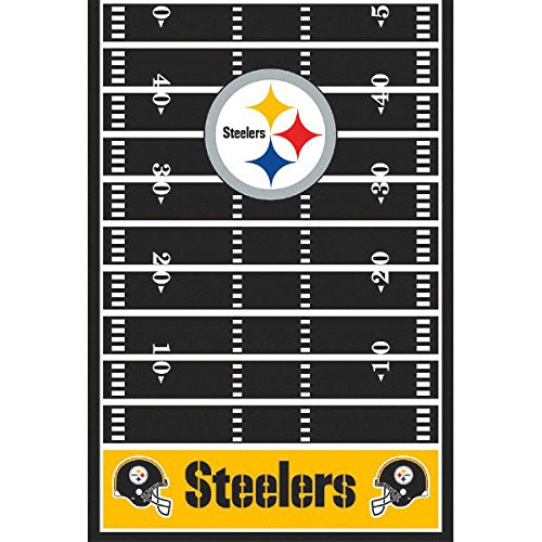 Party Football Cover Table (Pittsburgh Steelers NFL Football Sports Party Table Cover, 1 Piece, Made from Plastic, Any Party, 54