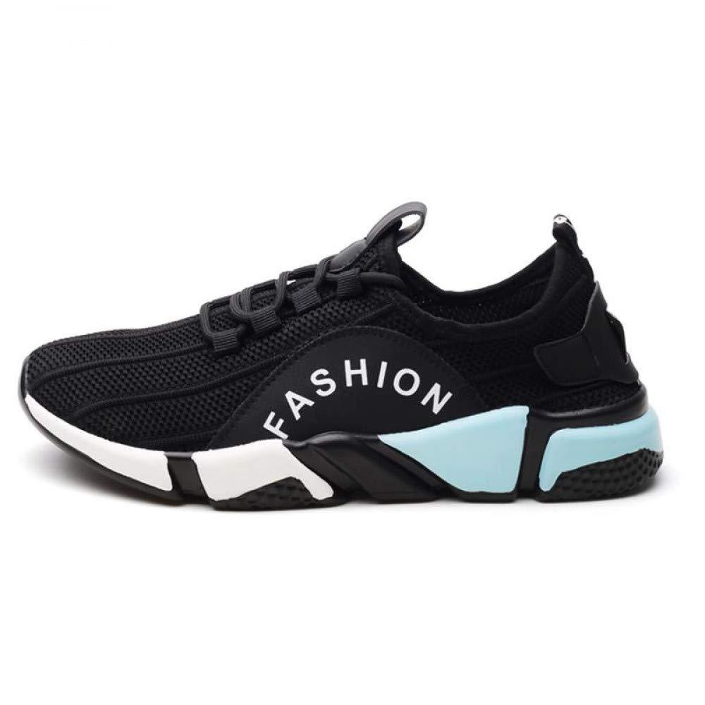 WDDGPZYDX Laufschuhe Turnschuhe Männlichen Turnschuhe Leichte Trainer Super Atmungsaktive Mesh Männer Schuhe Sommer Freizeitschuhe Männer Lace Up Flache Mode Schuhe