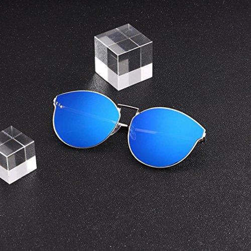 Mujer 05 Gafas Polarizadas Gafas Fossen sol de sol Hombres Retro Redondas de UCqw7H6