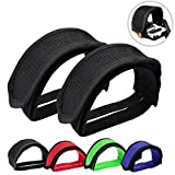 Outgeek 1 Pair Bike Pedal Straps Pedal Toe Clips Straps Tape for Fixed