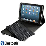 Bluetooth Keyboard with Tech-Grip Case for iPad mini Tablet
