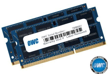 OWC 16GB (2x8GB) PC3-12800 DDR3L 1600MHz SO-DIMM 204 Pin CL11 Memory Upgrade Kit For iMac, Mac mini, and MacBook Pro by OWC