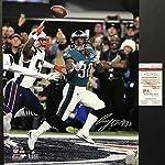 0af3a25e118 Autographed/Signed Corey Clement Philadelphia Eagles Super Bowl LII 52 TD  Champions.