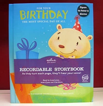 Amazon hallmark recordable book kob1048 for your birthday hallmark recordable book kob1048 for your birthday m4hsunfo