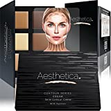 Compra Aesthetica Cosmetics Cream Contour and Highlighting Makeup Kit - Contouring Foundation / Concealer Palette - Vegan, Cruelty Free & Hypoallergenic - Step-by-Step Instructions Included en Usame