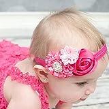 Liroyal Baby's Headbands Girl's Cute Head Band Hair Bow Crystal Flo