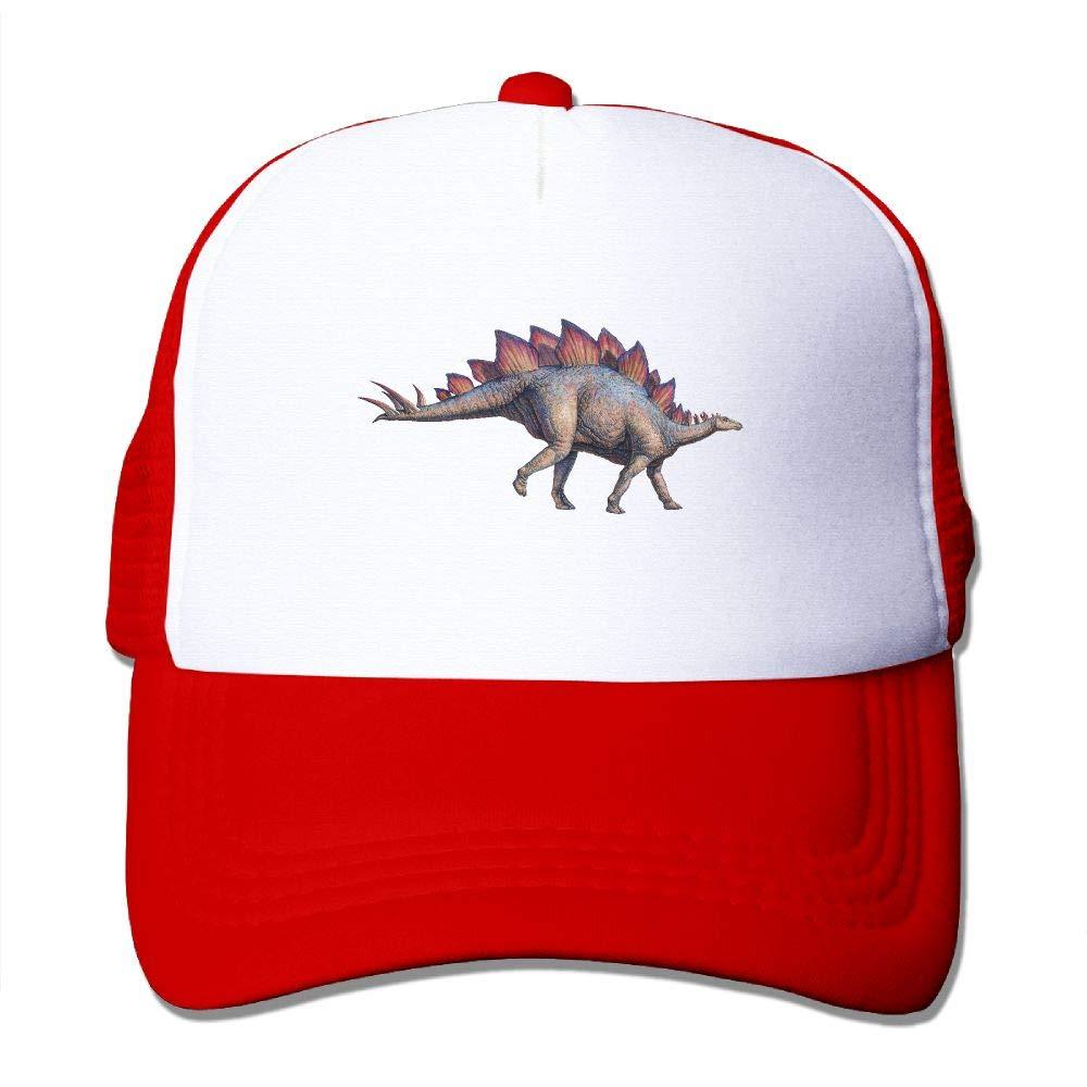 ZZATAA Mesh Hat Baseball Caps Grid Hat Stego Saurus Adjustable Trucker Cap