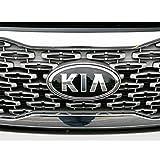 kia sorento emblem - Kia Motors Genuine 863202P560 Front Hood Grill KIA Logo Emblem 1-pc For 2013 2014 Kia New Sorento