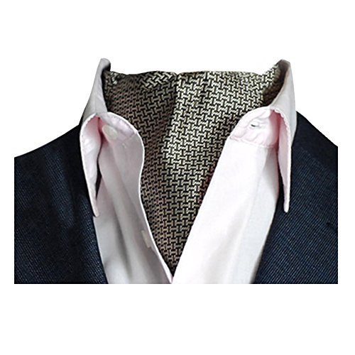for Dot Classic Polka Luxury Reversible Color Men Paisley Elegent 7 Jacquard Scarf Tie Cravat YCHENG Necktie w4qpAw