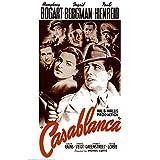 Casablanca Movie Bogart Holding Gun Poster Print - 24x36