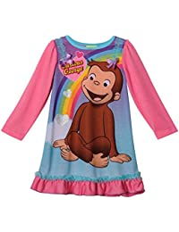 Long Sleeve Girls Nightgown, Toddler Sizes 2T-4T