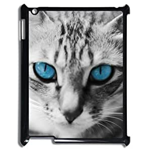 Animal Series Cute Cat Design Hot Black Case For IPad 2 3 4 With Best Plastic By All My Dreams