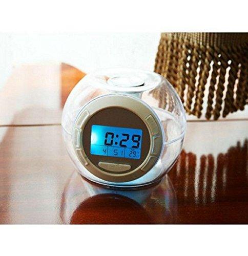 Colorful Lights Music Alarm Clock Natural Sound Alarm Clock Creative Lazy Snooze Mode Music Alarm Clock