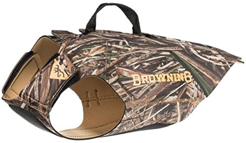 Browning Camo Neoprene Dog Vest | Realtree MAX-5 | Size Small