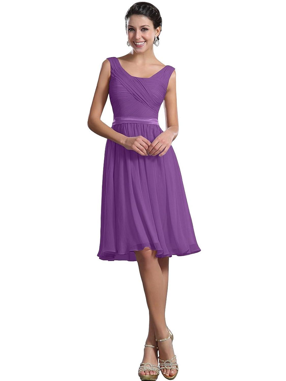 8dcf5154d93 Remedios A Line Chiffon Bridesmaid Dress - Gomes Weine AG