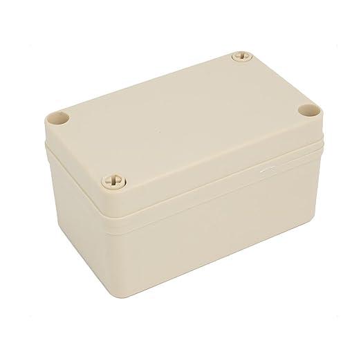 Aexit 70mmx80mmx130mm ABC Caja de conexiones a prueba de ...