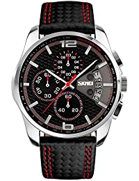 Skmei Men's Watches Built in Chronograph and Date with...