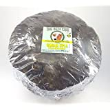"""CERO The Desi Cow Handmade Gobar Upla, Cow Dung Cake for Hawan/Puja/Holy Ritual (7"""" to 9"""" Diameter 4pcs)"""