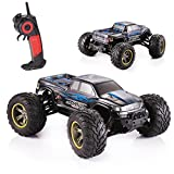 GPTOYS S911 RC Monster Truck 1 / 12 Scale Supersonic Explorer with 2 - Wheel Driven Electric Racing Truggy, Waterproof 2.4GHz 2WD Electric Off Road Car, Blue