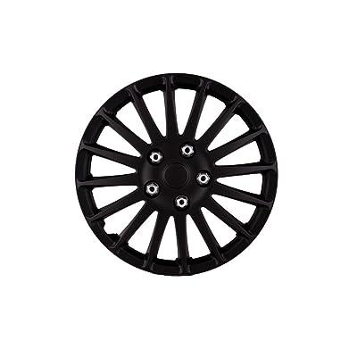 "SUMEX 5050071 Hub Cap (Original Set of 4 Monza, Beautiful Design, Easy Installation, Universal fit for 13"" INCHES car Wheels): Automotive"