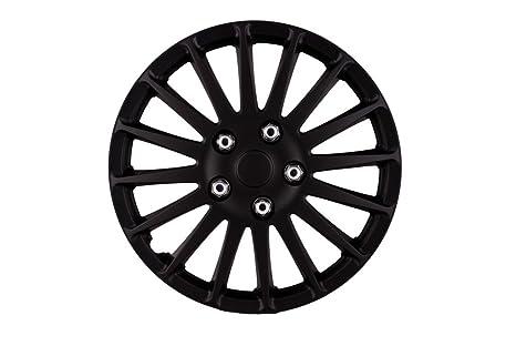 """SuMex 5050071 - Juego Tapacubos 13"""", """" Monza"""", Color Negro,"""