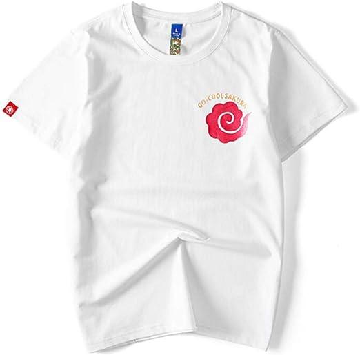 H.ZHOU Camiseta de Manga Corta para Mujer 100% Algodón TY-053 ...