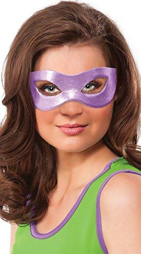 Nickelodeon Rubie's Costume Co Women's Teenage Mutant Ninja Turtles Classic Donatello Eye Mask, Purple, One Size