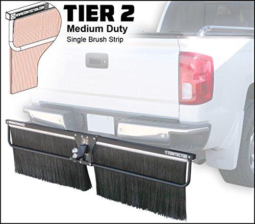 Towtector Tier 2 Mud Flap 27814-T2 Medium Duty Single Brush Strip - 78