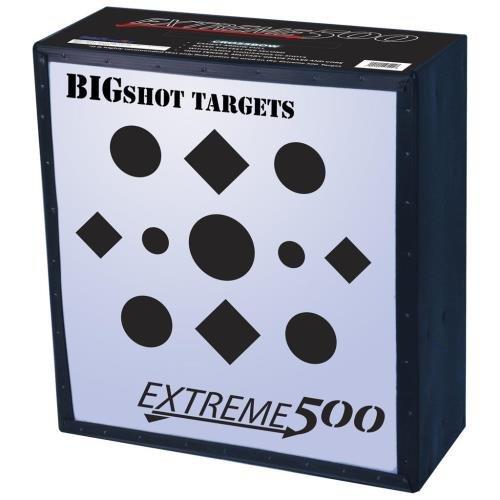 BIGSHOT ARCHERY Big Shot Iron Man Extreme 500 Target, White, 24''