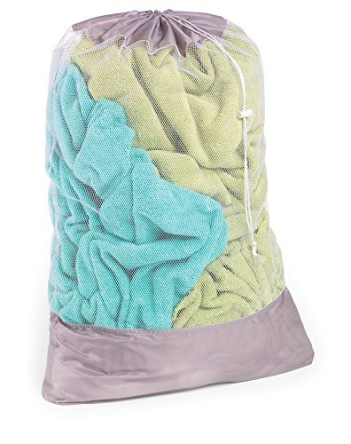 HOMZ Mesh/Polyester Laundry Bag