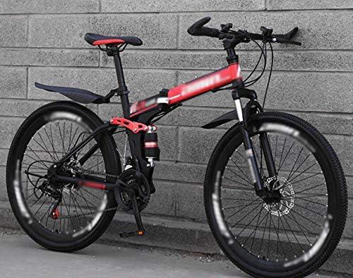 Bici de montaña plegable de bicicletas, bicicletas de 24