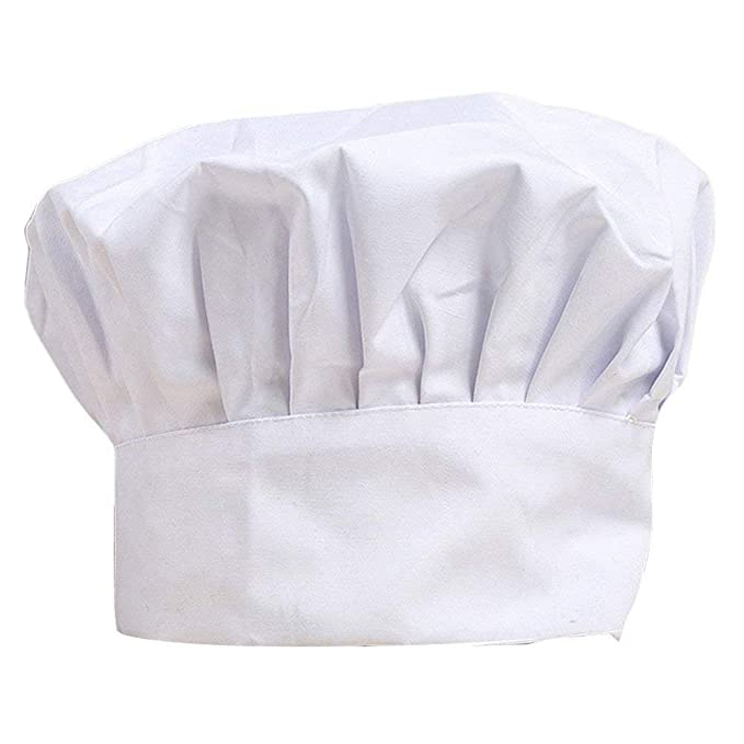 Clásico Ajustable Adultos Chef Hat Chef Works Gorras De Moda Cocina  Accesorio Color Especial Estilo Sólido Cap Hat Gorros (Color   Blanco 304ef2fbcf5