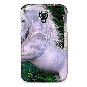 Cute Appearance Cover/tpu ShyeOMF4345qRlgi Silky Unicorn Case For Galaxy S4