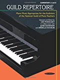 Guild Repertoire -- Piano Music Appropriate for the Auditions of the National Guild of Piano Teachers: Elementary A & B (Summy-Birchard Edition)