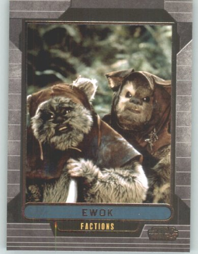 2012 Star Wars Galactic Files #350 Ewok (Non-Sport Collectible Trading Cards) from Star Wars