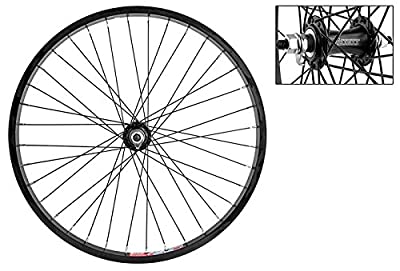 Wheel Master Folding Bike Front Wheel - 20'' x 1.5, Alloy, 36H, Black