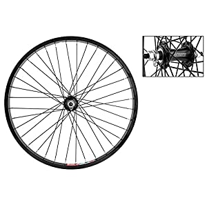 Wheel Master Folding Bike Front Wheel 20'' x 1.5, Alloy, 36H, Black