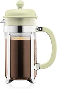 Bodum Caffettiera French Press Coffee and Tea Maker, 34 Oz, Light Green