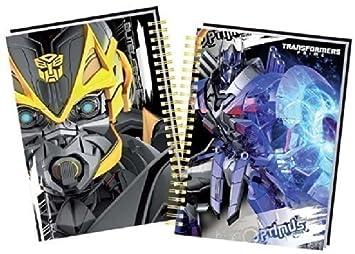 Anker Cuaderno para colorear Transformers (ANKTMFL)