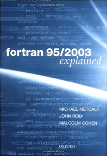 Amazon com: Fortran 95/2003 Explained (Numerical Mathematics and