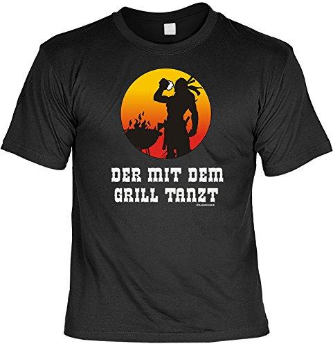 Divertido Sprüche Camiseta de la parrilla con el tanzt Fb Color Negro negro XXXL