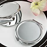 50 Perfectly Plain Collection Silver Metal Mirror