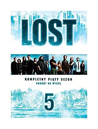 Lost Season 5 5DVD Region 2 English audio  English subtitles by