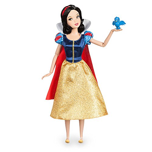 Costumes White And Snow 7 Dwarfs (Disney Snow White Classic Doll with Bluebird Figure - 11 1/2)