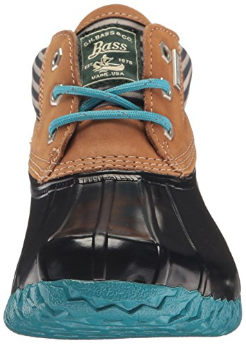 Gh Bass & Co. Womens Dorothy Regn Støvel Marineblå Stripe / Tan / Marine