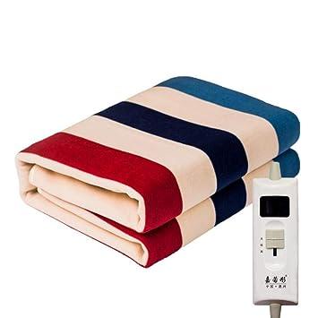 ZXY Calienta camas eléctrico Manta eléctrica de control único, manta eléctrica calentada de tamaño gigante